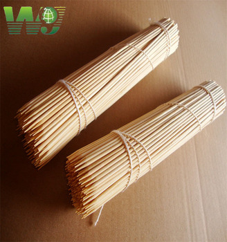 WY T-001 round Bamboo Sticks with High quality Manufacturer