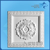 High Purity Eco-friendly Plaster Construction Materials Wall Relief