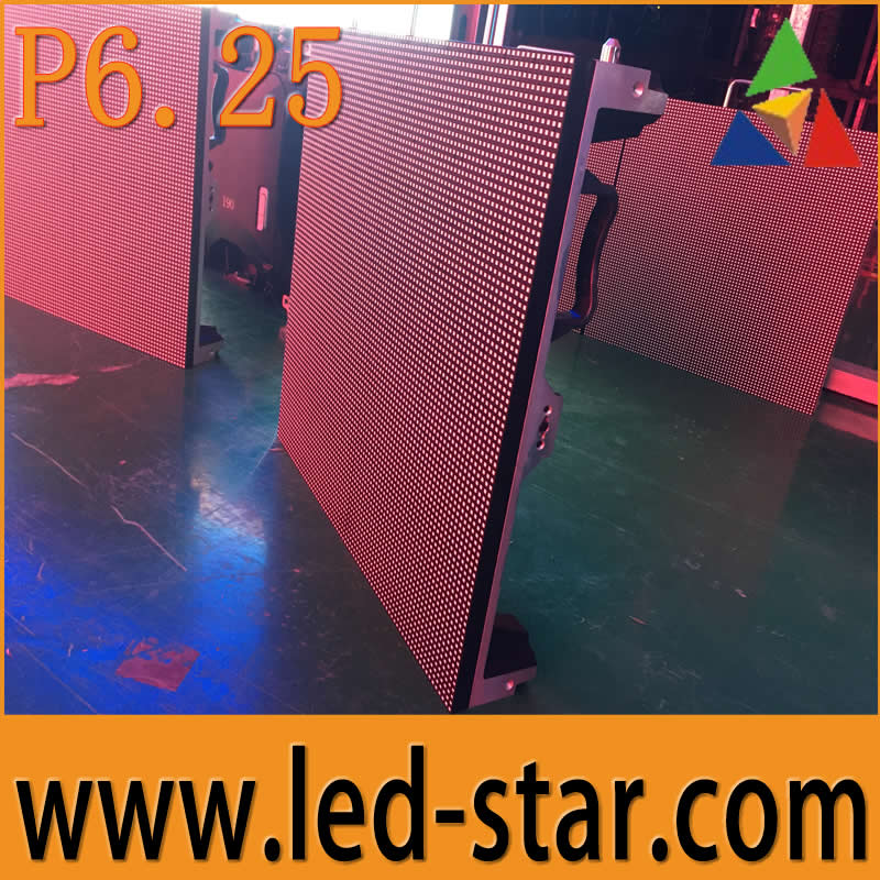 Hotstar Chinese manufacture P6.25 outdoor led large screen display