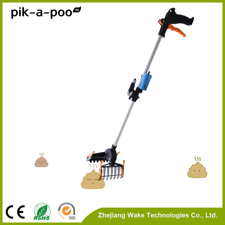 2015 Recommended Metal shaft Innovative dog poop picker