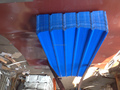 Dubai popular 0.18mm blue trapezoidal roofing sheet YX25-210-840/1050,Africa popular red corrugated roofing sheet
