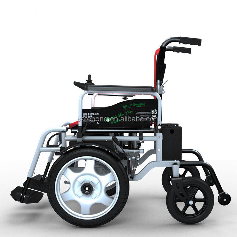 Electric folding wheel chair handicaped wheel chair