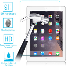 Best promotional excellent clear 9H anti-shock anti-fingerprint tempered glass screen protector for ipad mini 4 paypal