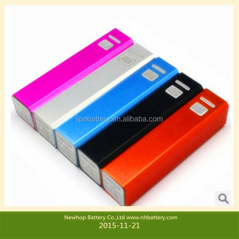 Portable for laptop universal cute 2600mAh power bank