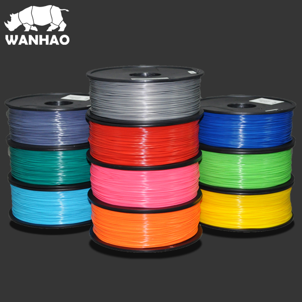 ABS & PLA Filaments,1.75mm <strong>plastic</strong> <strong>material</strong>, widely used for 3d printers