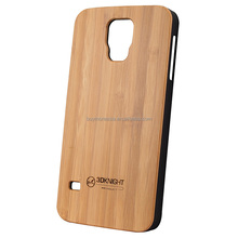 Natural bamboo phone case for Samsung galaxy S5 cell phone cover