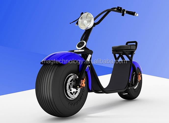 New design cictycoco big headlight removable battery EC COC 1000w Cheap unfolding Electric Motorcycle