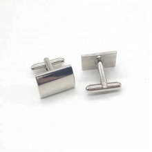 Beautiful Promotion Gifts Metal Rectangle Shape Cufflinks