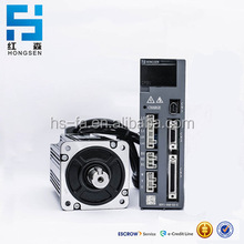 Hot sale 3 phase Hong Sen 1.5KW 220V ac servo motor and servo driverer