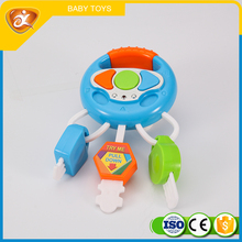 funny baby plastic toy keys promotional plastic toy keys with light and music