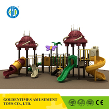 Characteristic design curved slide playground slides for wholesale
