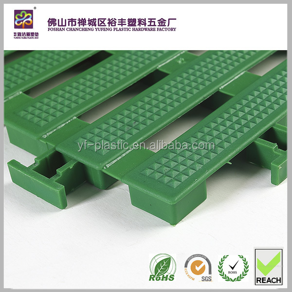 UV protected plastic pp floor tiles mat