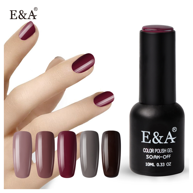 Ea Brand Whole Gel Nail Polish China Factory 10ml Soak Off Color Product On Alibaba