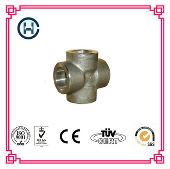 Stainless steel equal socket welding cross
