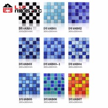 outdoor project choice ceramic mosaic tile,cheap blue swimming pool tile