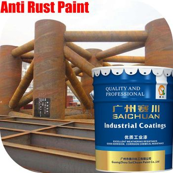 High performance anti rust coating appliance paint