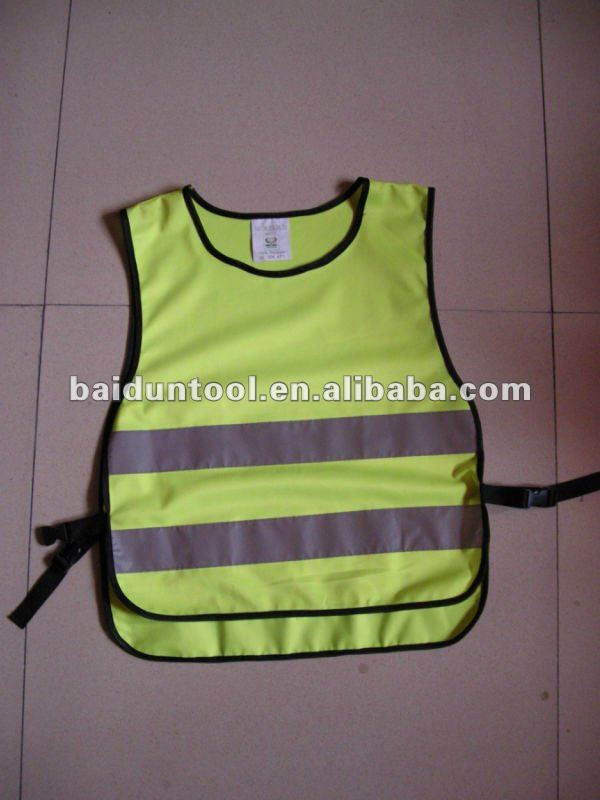 kid safety clothes/kids night clothes/2013 new style kid safety vest