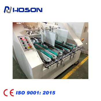 ZH-1200BFST 4/6 corner Automatic Pizza Box Folder Gluer Machine