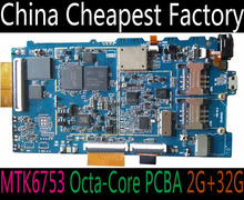 Factory MediaTek MTK6753 Octa-Core tablet computer motherboard PCBA support 10inch/8inch tablet mainboard PCB with 4G/WifI/BT