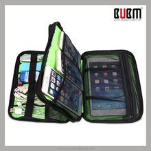 BUBM promotional gift data cables storage pad bag organizer case for electronic gadgets device