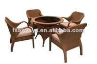 2013 poly new rattan outdoor furniture AWS00147