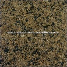 Saudi Polished Tropical Brown Granite Block