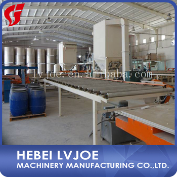 Automaticlly plaster/POP board manufacturing plant