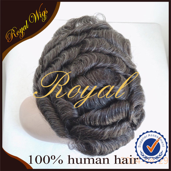 100% Human Hair Men's Hair Systems Men's Toupee Men's Hair Pieces