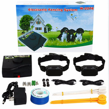 PetSafe Wireless fence system W-227B w/ rechargeable &waterproof dog shock collar with 2 dogs