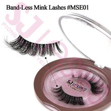 3D Multi-Layered Mink Lashes Wholesale Eye Lash Round Box Own Logo Brand Eyelash