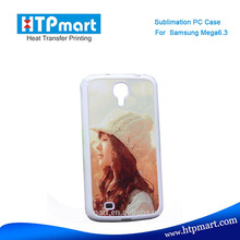 2D pc blank sublimation phone case waterproof case for samsung galaxy mega 6.3''