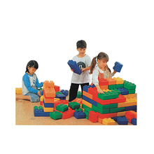 Hotsale kids building blocks plastic giant plastic blocks