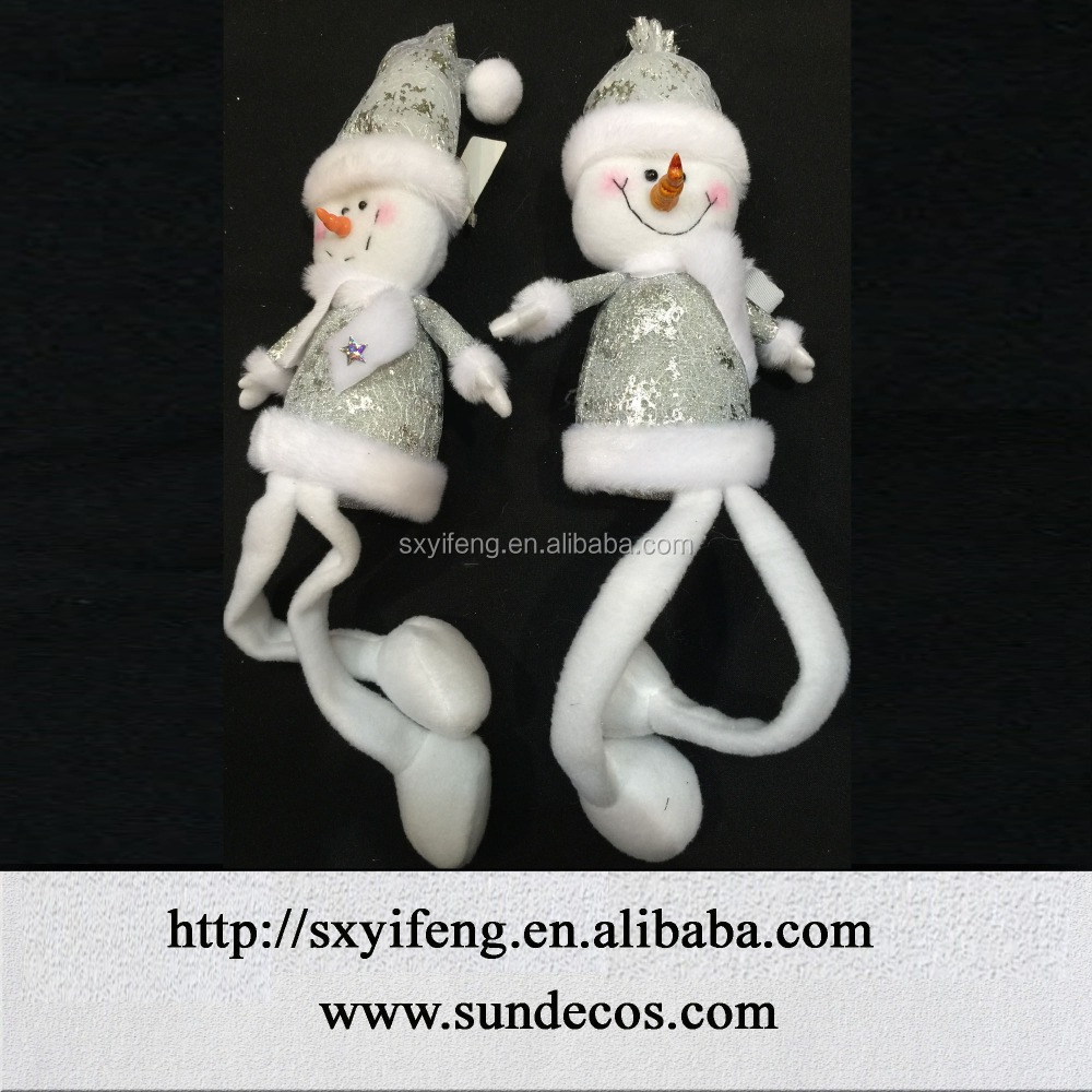santa, snowman, angel items for christmas tree decoration