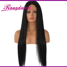Unprocessed Brazilian Silky Straight Full Lace Human Hair Wig Virgin Hair Wig