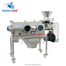 Centrifugal vibroscreen machine
