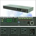 8 ports 115V 15 amp Per Outlet Monitored/Switched, network controlled pdu