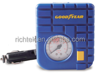 Goodyear DC 12 V mechanical Mini Tire Inflator/motorcycle tire inflator/air compressor for motorcycle with LED Light