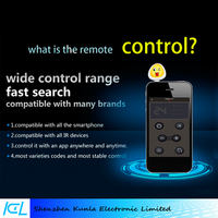 2016 mobile universal household Appliance infrared Remote controller via mobilephone for Vivo x5/x6, Htc A9, Huawei Mate S, LG