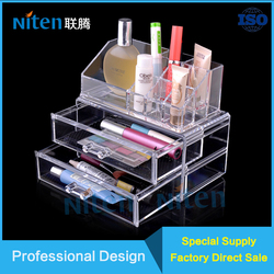 Acrylic Makeup Organizer Cosmetic Storage Display Boxes