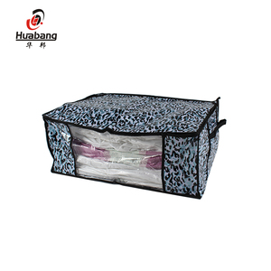 large canvas vacuum storage bag for queen mattress with custom colors and decorative patterns