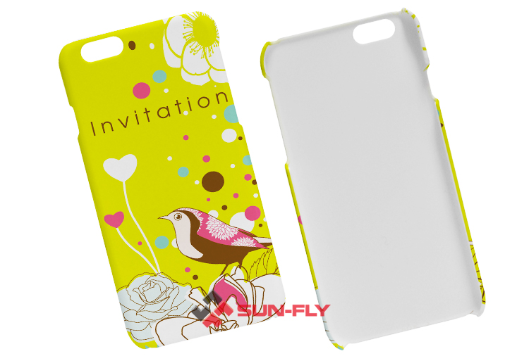 Blank 3d sublimation cases cover for iphone 6 OEM phone case