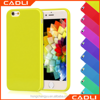 factory supply candy color rubber silicone tpu cell phone case for iphone 5 5S SE