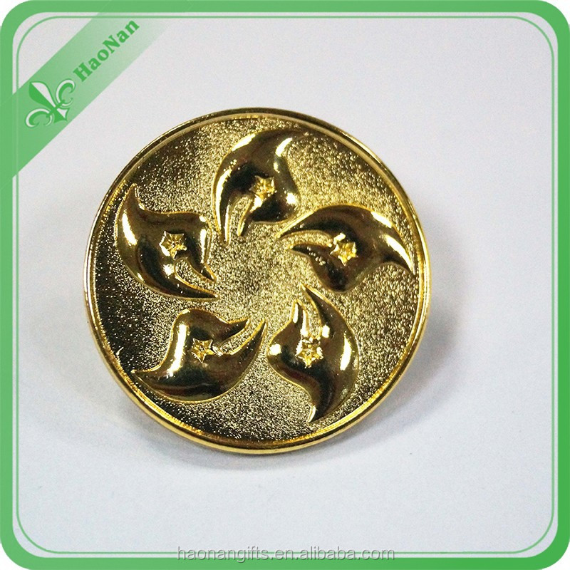 Perfect stylish high quality metal label pin