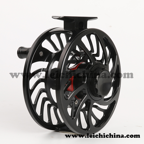 Alloy machine cut fly fishing saltwater fly fishing reel