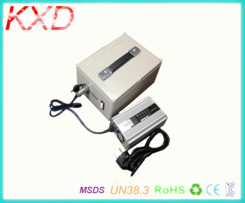 KXD rechargeable portable ups 12v 50ah li-ion battery