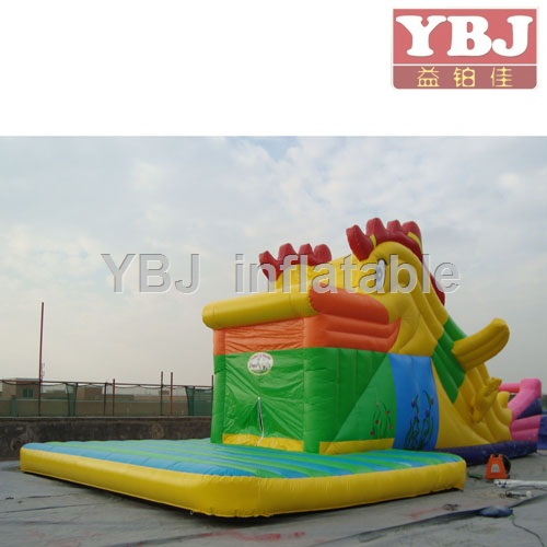 inflatable Turkey slide