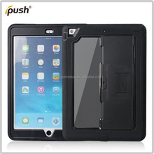 silicone+ PC 3in1 mirror Combined Case Stand tablet Cover For Ipad Air Mobile Phone Shell