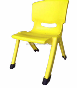 kindergarten use kid plastic table and chair children anti-skid chair