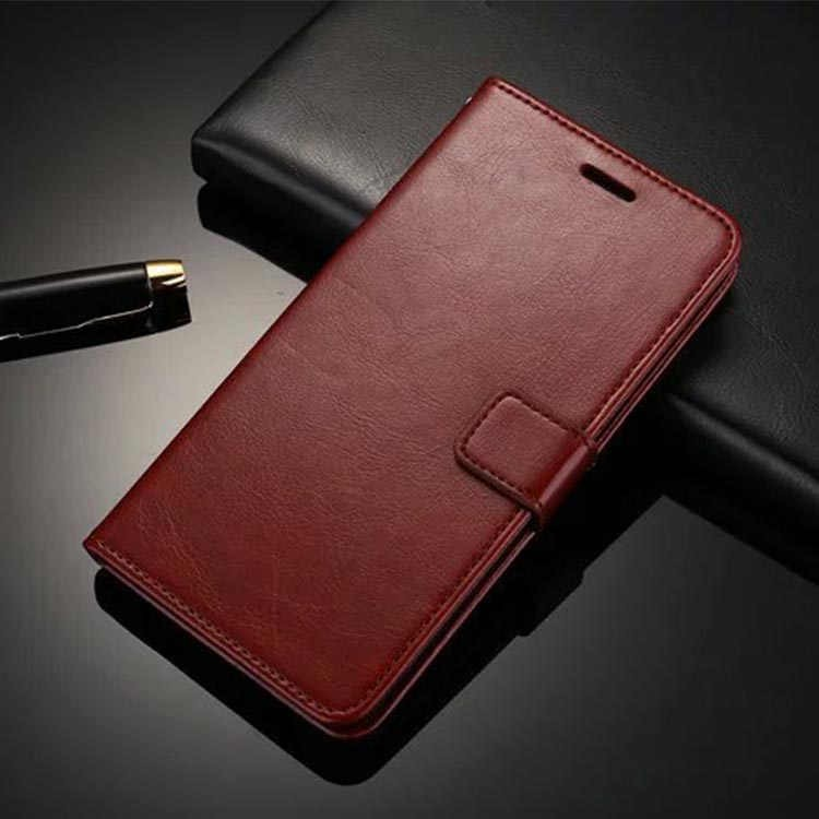 New arrival slim PU leather stand holder with magnet case for OPPO R9