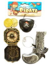 creative design weapon ABS new kids pirate play set with EN71